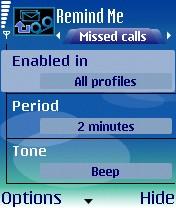 Remind Me For Symbian Phones V 3.56 Mobile Software