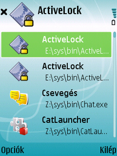 ActiveLock For Symbian Phones V 1.10 Beta Mobile Software