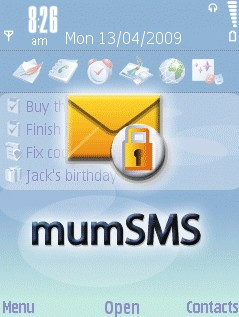 MumSMS Plus For Symbian Phones V 5.09.1106 Mobile Software