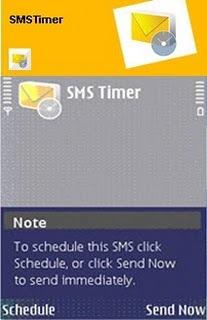 SMSTimer For Symabain V 2.0.0 Mobile Software