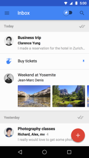 Inbox By Gmail Mobile Software