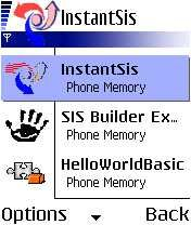 Instant Sis Mobile Software