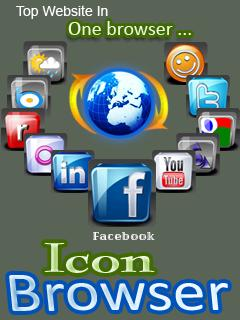 Icon Browser 128x160 Mobile Software