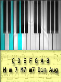 IQ Piano Chords Mobile Software