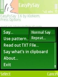 EasyPySay Mobile Software