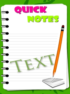Quick Notes Mobile Software
