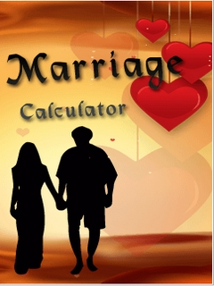 Marriage Calculator Mobile Software