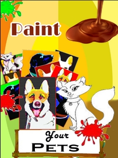 Paint Your Pets Mobile Software