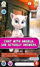 Talking Angela Beauty Cat For Android Phones V 1.1 Mobile Software