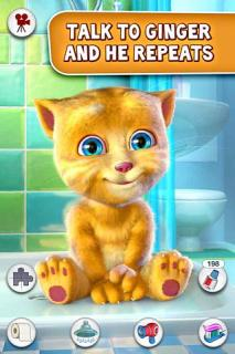 Talking Ginger For Android Phones V 1.5.1 Mobile Software