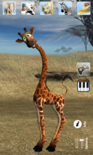 Talking George The Giraffe For Android Phones V 2.2 Mobile Software