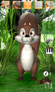 Talking James Squirrel For Android Phones V2.3 Mobile Software