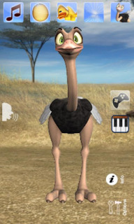 Talking Joe Ostrich For Android Phones V2.1 Mobile Software