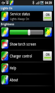 Lights On For Android Phones V1.2 Mobile Software