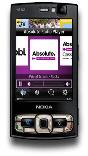 Absolute Radio Player For Symbian Phones V1.0 Mobile Software