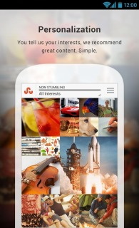 StumbleUpon For Android Phones V 3.2.1 Mobile Software