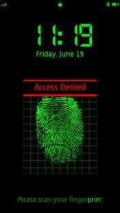 FingerPrint For Symbian Phones V 2.8 Mobile Software