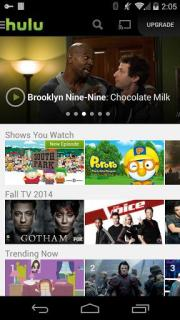 Hulu Plus Mobile Software