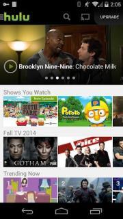 Hulu Plus Mobile Software