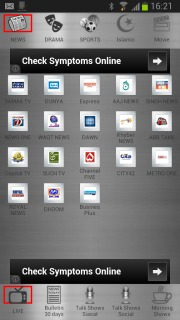 Pakistan TV LIVE Channels Free Android Apps Mobile Software