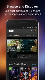 IMDb Movies And TV Movies Free Apps Mobile Software