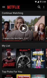 Netflix Mobile Software
