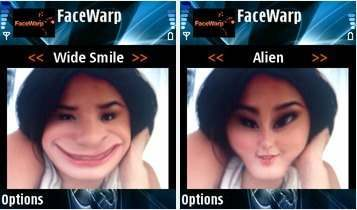 Face Warp Mobile Software