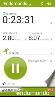 Endomondo Sports Tracker Mobile Software