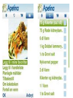Apetina Cookbook For Java Phones V 1.09 Mobile Software