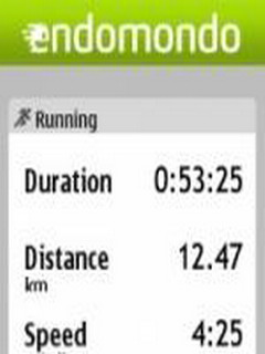 Endomondo For Symbian Phones V 2.0.0 Mobile Software