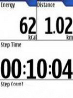 Nokia Step Counter For Symbian Phones Beta V 3.1 Mobile Software