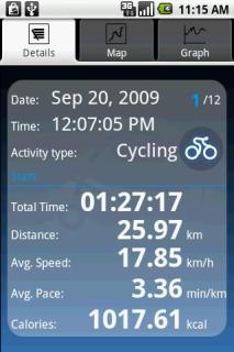 SportyPal For Java Phones V 1.2.7 Mobile Software