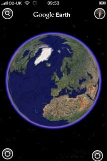 Google Earth V3.1.1 Mobile Software