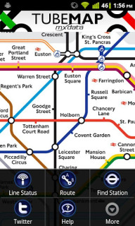 Tube Map Mobile Software