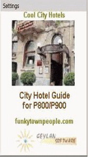 Cool City Hotel Guide Mobile Software