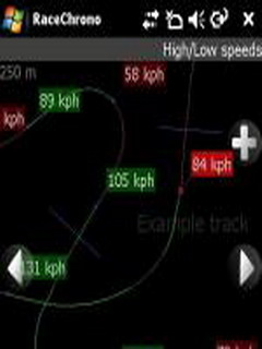 RaceChrono For Symbian V1.30 Mobile Software