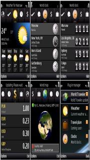 World Traveler For Symbian Phones V 1.05.4 Mobile Software
