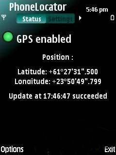 Phonelocator By Birkett For Symbian Phones V 0.9 Mobile Software