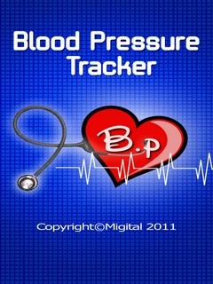 Blood Pressure Tracker 176x220 Mobile Software