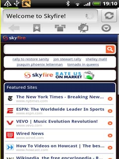 Skyfire  V3.2.2 Mobile Software