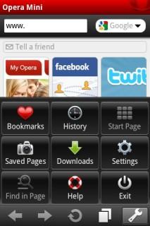 Opera Mini 5.1.1 Mobile Software