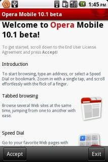 Opera Mobile 11.00.1103250857 Mobile Software