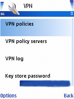 Nokia Mobile VPN 4.0 Mobile Software