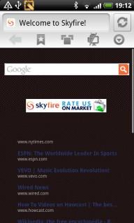 Skyfire 4.1.0 Mobile Software