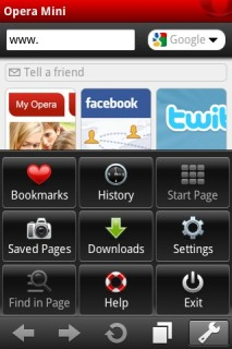 Opera Mini Web Browser 6.5.2 Mobile Software