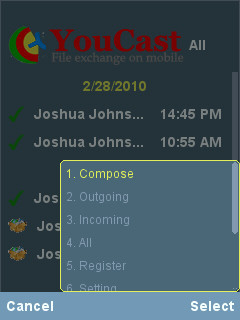 YouCast 1.1.1 Mobile Software