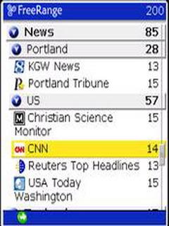 FreeRange Reader Mobile Software