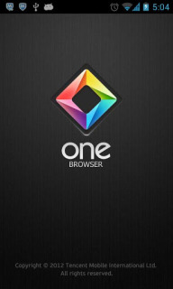One Browser -Formerly IBrowser For Android Phones V 3.8.0.4 Mobile Software