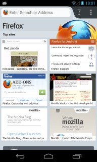 Firefox Browser For Android V24.0 Mobile Software
