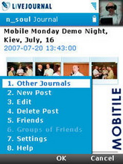 LiveJournal Mobile Client For Symbian V0.4.0 Mobile Software